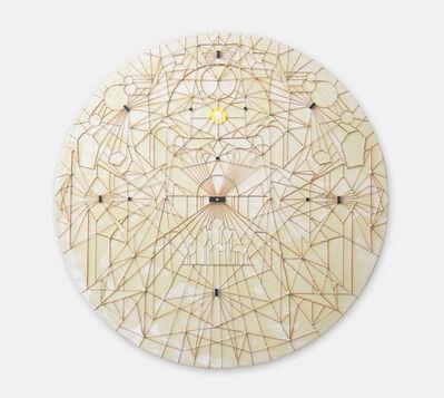 Leonardo Ulian, 'Microchip synapses #17, Metaphysical void', 2014
