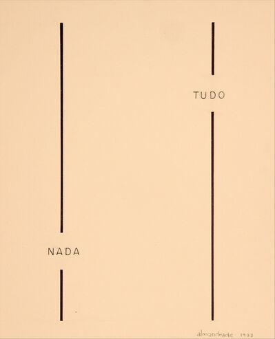 Almandrade, 'No Title, Visual Poem'
