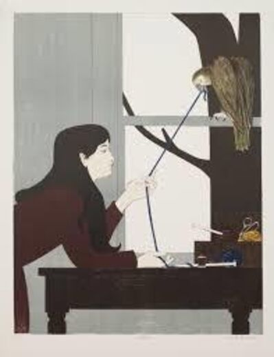 Will Barnet, 'Silent Season Winter', 1971