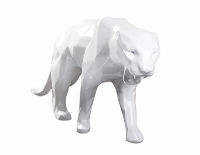 Richard Orlinski, 'Wild White Panther', 2019