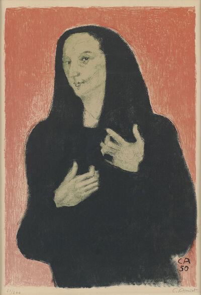 Cuno Amiet, 'Germaine Richier', 1950