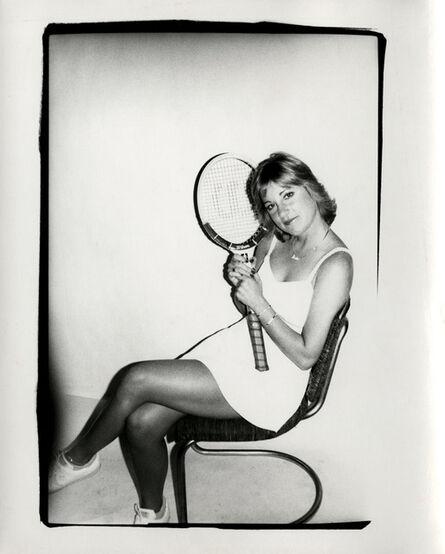 Andy Warhol, 'Andy Warhol, Photograph of Chris Evert Lloyd circa 1986', ca. 1986