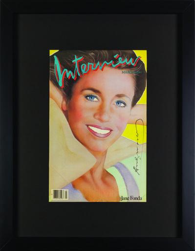 "Andy Warhol, 'Interview Magazine Signed by Andy Warhol ""Jane Fonda"" ', 1984"