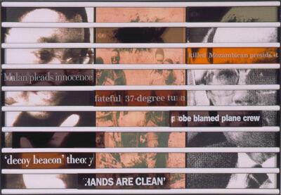 Sue Williamson, 'Truth Games: Graca Machel – prokoved disaster – Magnus Malan', 1998