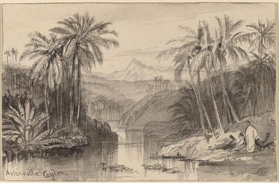 Edward Lear, 'Avisavella, Ceylon', 1884/1885