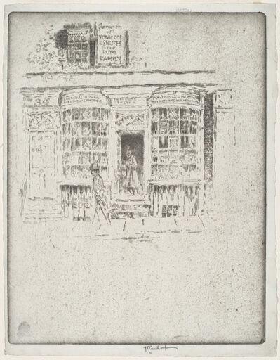 Joseph Pennell, 'The Tobacco Shop', 1903