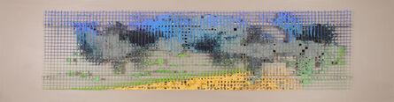 William Tillyer, 'Kilton - The Mulgrave Wire Scrolls', 2021
