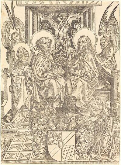 Wilhelm Pleydenwurff, 'Saints Peter and Paul under a Canopy'