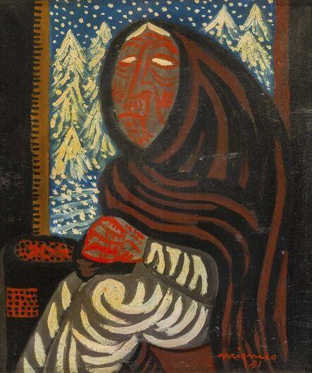 Giuseppe Migneco, 'Inverno', 1951