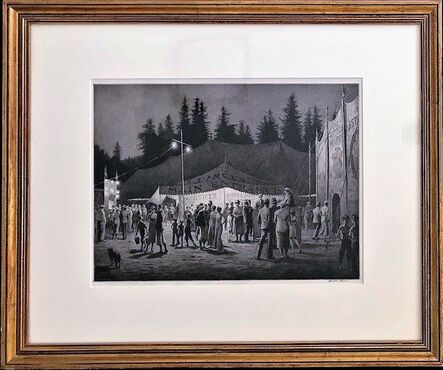 Martin Lewis, 'Circus Night.', 1933