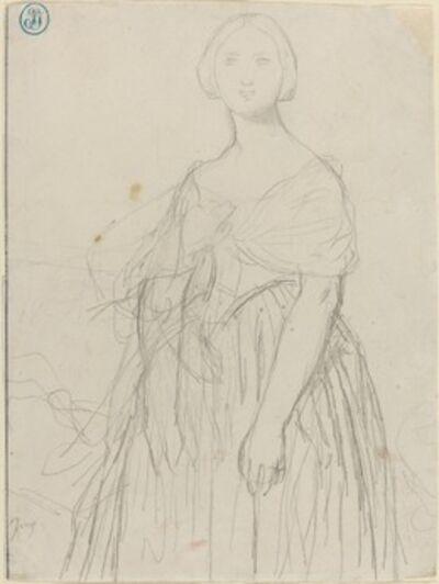 Jean-Auguste-Dominique Ingres, 'Sketch for Madame Moitessier'