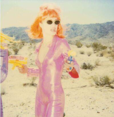 Stefanie Schneider, 'Kirsten Red Lips (California Blue Screen)', 1999