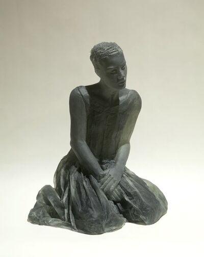 Nicolas Africano, 'Kneeling Figure (grey)', 2016