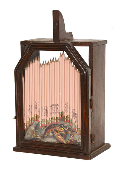 Arman, 'Pencils in a Wooden Box', Late 20th Century