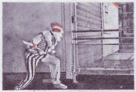 "Dieter Fuchs, 'Frankreich ""Clown""', 2014"