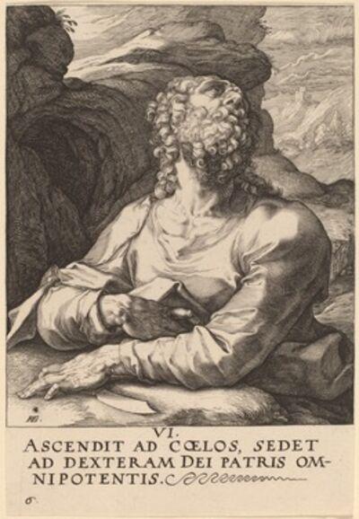 Hendrik Goltzius, 'Saint Bartholomew', probably 1589