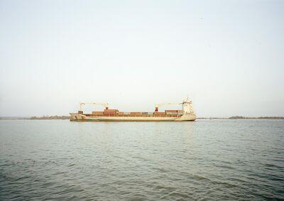 Victoria Sambunaris, 'Untitled (Cargo, UAL Angola, Isle of Man), Houston Ship Channel, Texas', 2016