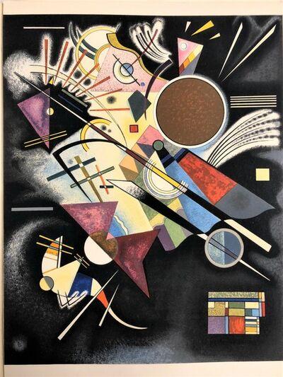 Wassily Kandinsky, 'Accompagnement en noir', 1960