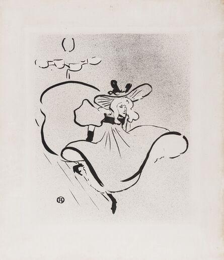 Henri de Toulouse-Lautrec, 'Jane Avril (Wittrock 18 i/ii)', 1893