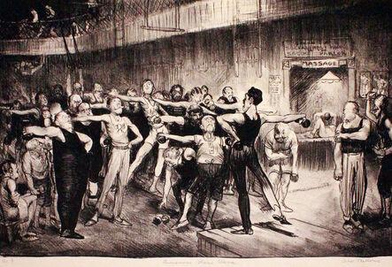 George Bellows, 'Business Men's Class', 1916