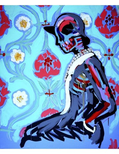 Bradley Theodore, 'Coco In Flowers', 2016
