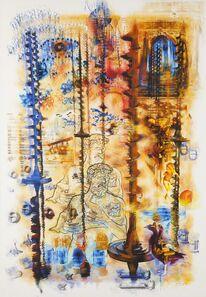 Jean-Michel Laberge, 'ADN à 16 branches', 2014