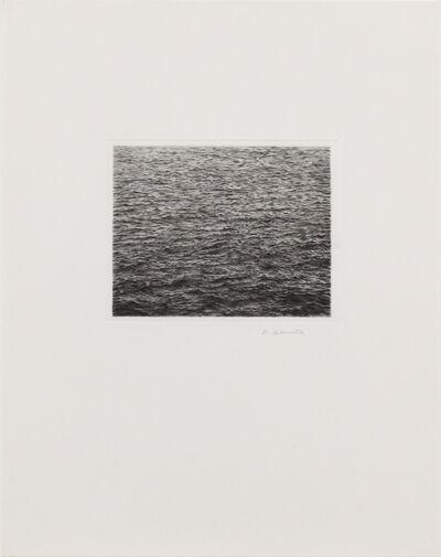 Vija Celmins, 'Drypoint - Ocean Surface (Second State)', 1985