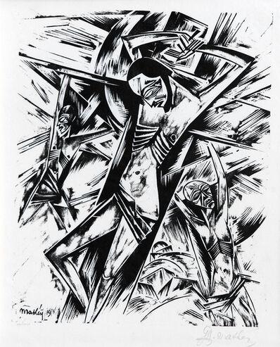 Georg Alexander Mathéy, 'Kreuzigung (Crucifixion)', 1921