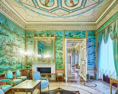 David Burdeny, 'Blue Drawing Room, Catherine Palace, Pushkin', 2014