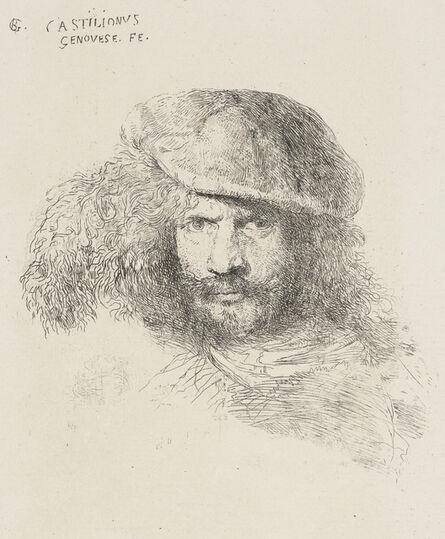 Giovanni Benedetto Castiglione, ' A presumed self-portrait', late 1640s