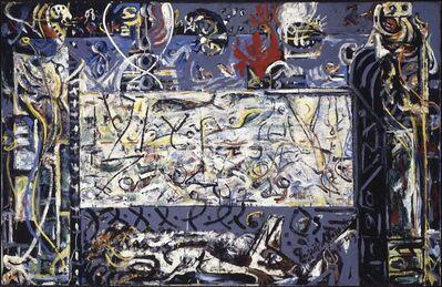 Jackson Pollock, 'Guardians of the Secret', 1943