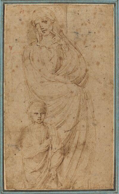 Girolamo da Carpi, 'Two Figures'