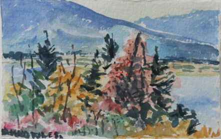 Dorothy Knowles, 'Blue Mountain'