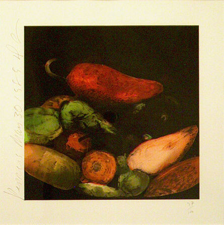 Donald Sultan, 'Peppers', 1989