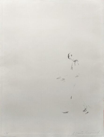 Alberto Giacometti, 'L'HOMME QUI MARCHE (WALKING MAN)', 1957