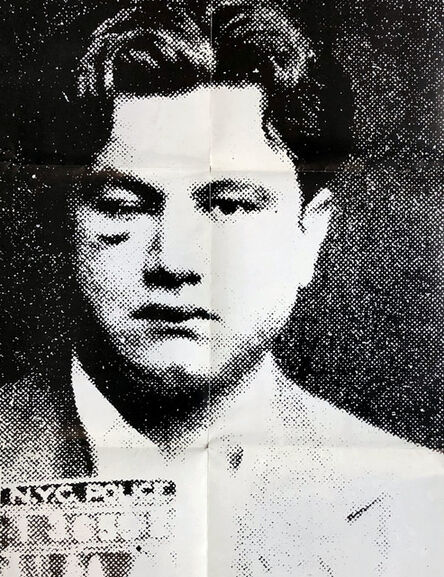 Andy Warhol, 'Andy Warhol Most Wanted Men (1980s Gagosian exhibit poster)', 1988