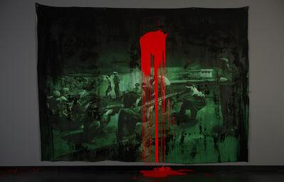 Dora Longo Bahia, 'FARSA – GOYA (FUSILAMENTOS DE 27 DE AGOSTO DE 1979)', 2013
