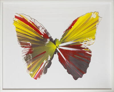 Damien Hirst, 'Spin Painting - Butterfly ', 2009