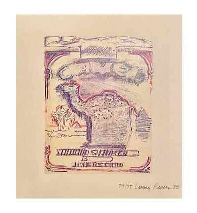 Larry Rivers, 'Camel', 1980