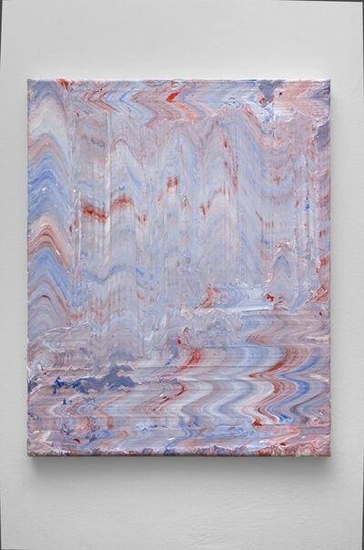 Robert Standish, 'Red, White and Blue (Rhythmic #1)', 2018