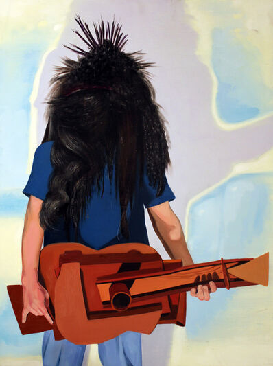 Gregg Gibbs, 'Heavy Metal Picasso Guitar', 2001