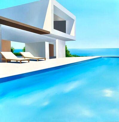 Daniel Raynott, 'Blue Villa', 2021
