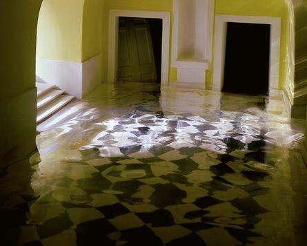 James Casebere, 'Yellow Hallway #2', 2001