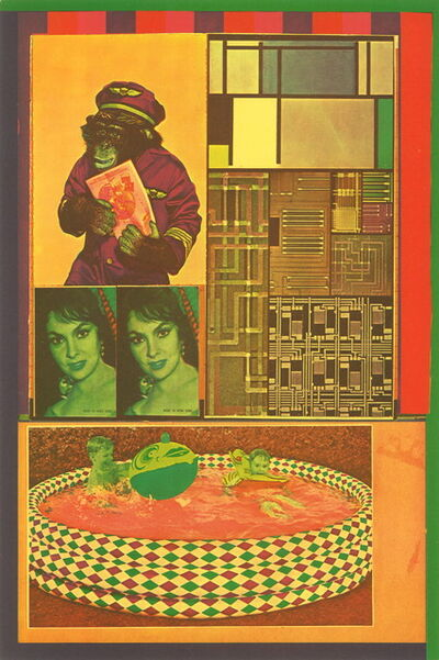 Eduardo Paolozzi, 'Transparent Creatures hunting New Victims from General Dynamic F.U.N.', 1965-1970