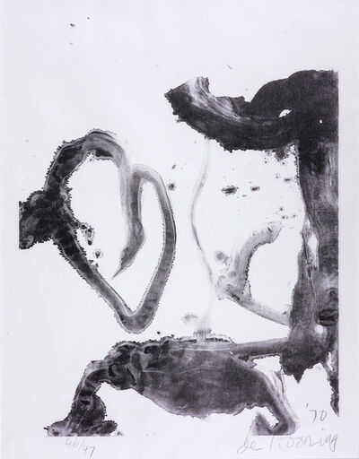 Willem de Kooning, 'Valentine', 1971