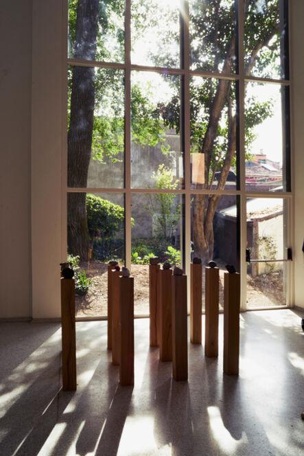 herman de vries, 'the stones (Installation view)', 2015