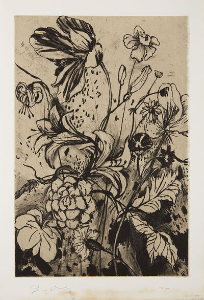 Jim Dine, 'Details from Nancy's Garden, from The Temple of Flora', 1984