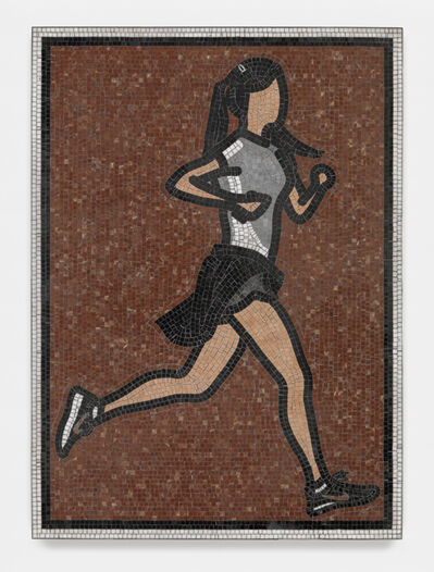 Julian Opie, 'Soldier. 1. ', 2015