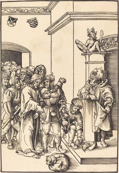 Lucas Cranach the Elder, 'Christ before Annas', in or before 1509