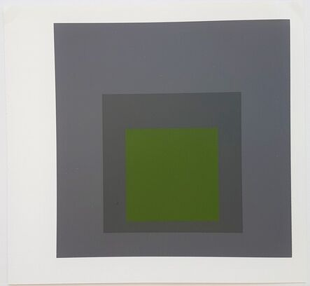 "Josef Albers, '""Homage to the Square: Josef Albers Museum Bottrop""', 1983"